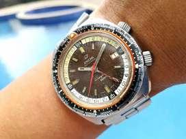 Ori 60s Enicar Sherpa GMT Tropical Dial submariner daytona speedmaster