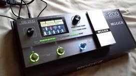 Mooer Ge200 guitar multieffects unit