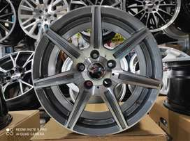 velg racing mercy ring 16 tipe danke warna grey polish