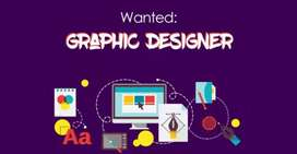 In house graphics designer required.