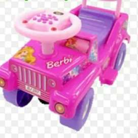 Mainan Anak Mobil Dorong BARBIE MAINAN ANAK SHP BJ 597