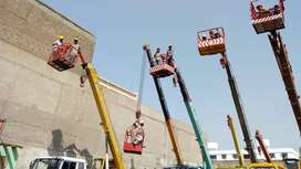 Basket Cranes for Rent on Daily & Monthly Basis in Karachi Pakistan