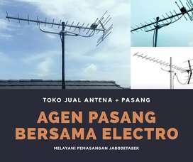 Tempat pemasangan sinyal antena tv outdoor bekasi selatan