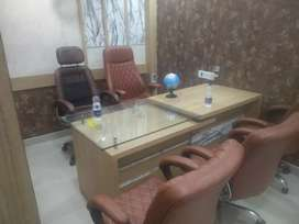 Luxury furnished office space available for rent in indirapuram