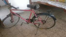 Red colour cycle in good condition
