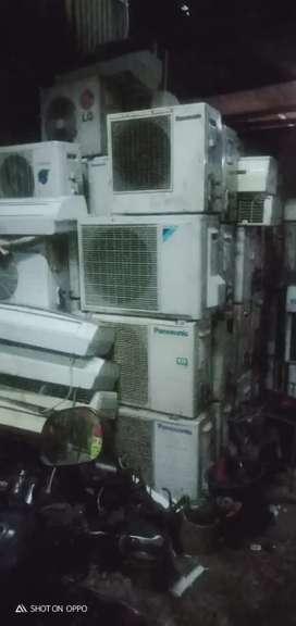 Jual beli AC bekas/rusak satuan juga borongan