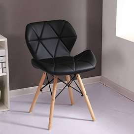 RIBBONS Designer DSW Chair for Office, Bed Room,Cafe, Home