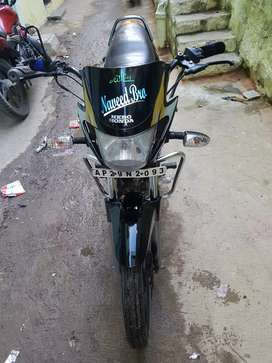 Sell for hero Honda Glamour running condition