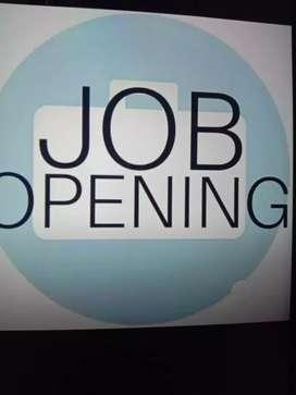 Urgent vacancy Mall job