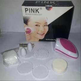 Pink Skiner Korea Set