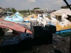 Jual perahu air bebek bebekan, pabrik bebek air kecil, wahana air