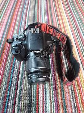 Canon 700d kit 18 55