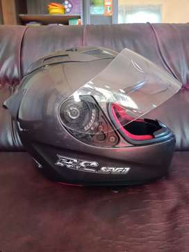 For Sale : helm full face KYT RC seven ( grey )