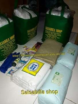 Jual paket hemat  kain kafan dan perlengkapan jenazah kota bandung