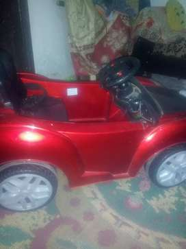 Battery operated and self start car