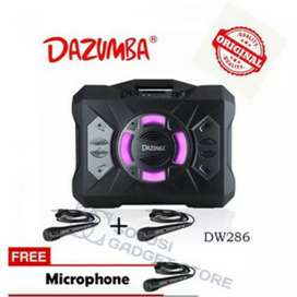 Dazumba DW286 Speaker Karaoke Portable Bluetooth Extra Bass DW-286