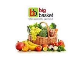 Big basket Hiring a delivery boy