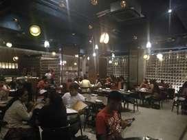 Running Garden Restaurant and Bar on Rent nr saras baug swargate Pune.