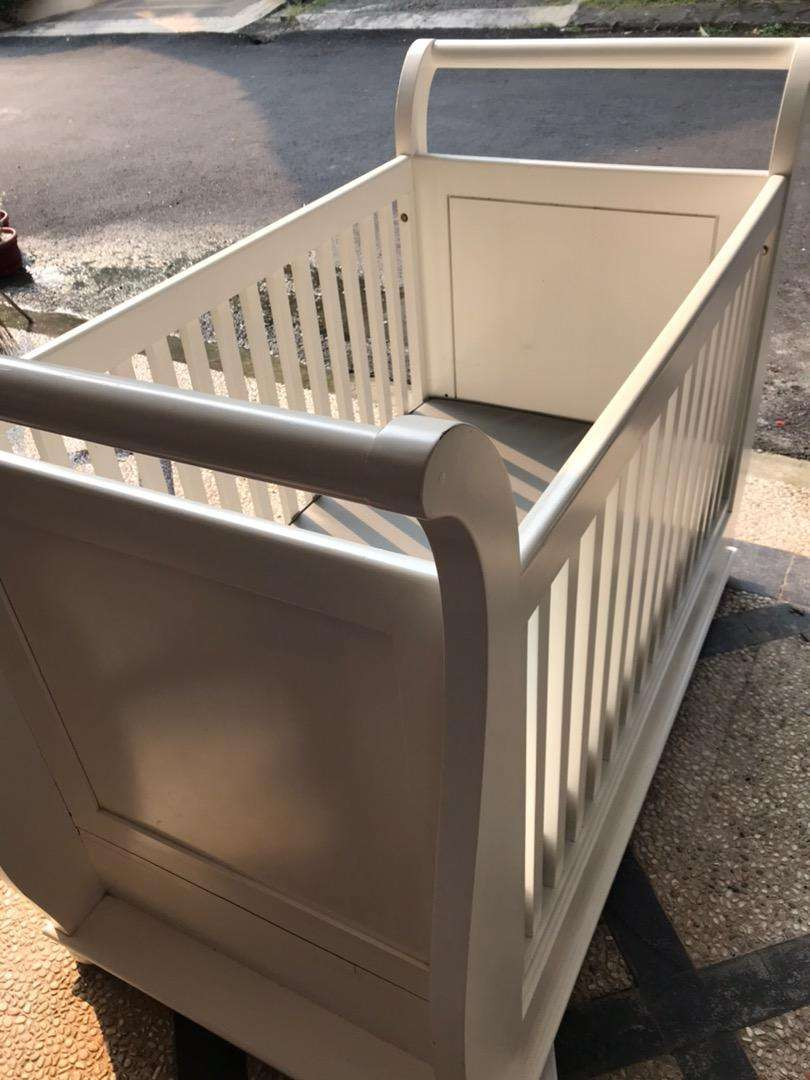 Box Baby Kayu Mahoni Solid 0