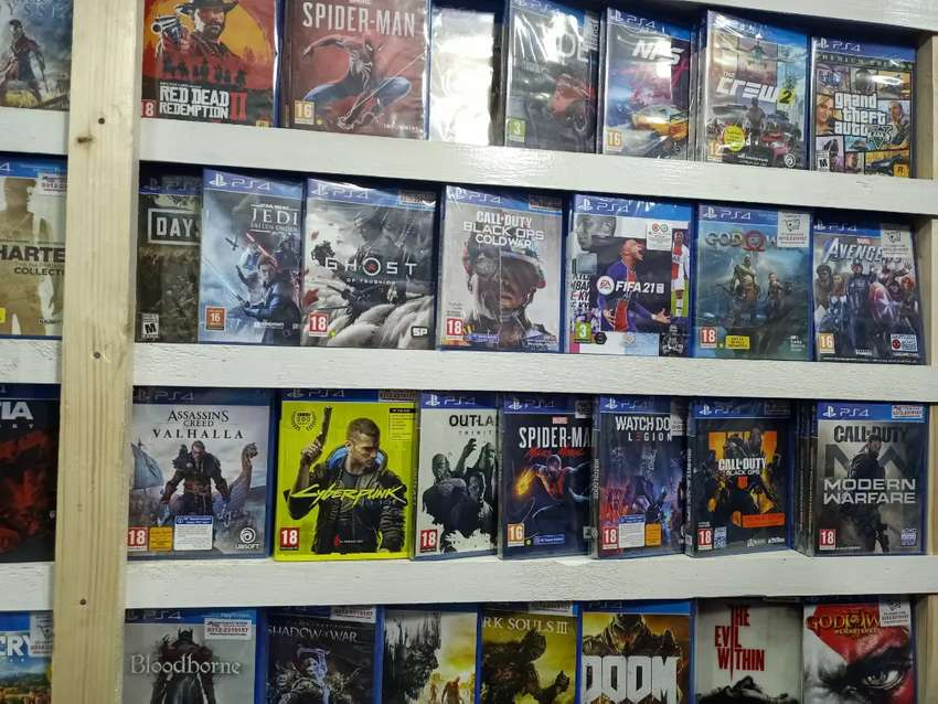 PS4 Latest Game in PGS Game Shop Karachi