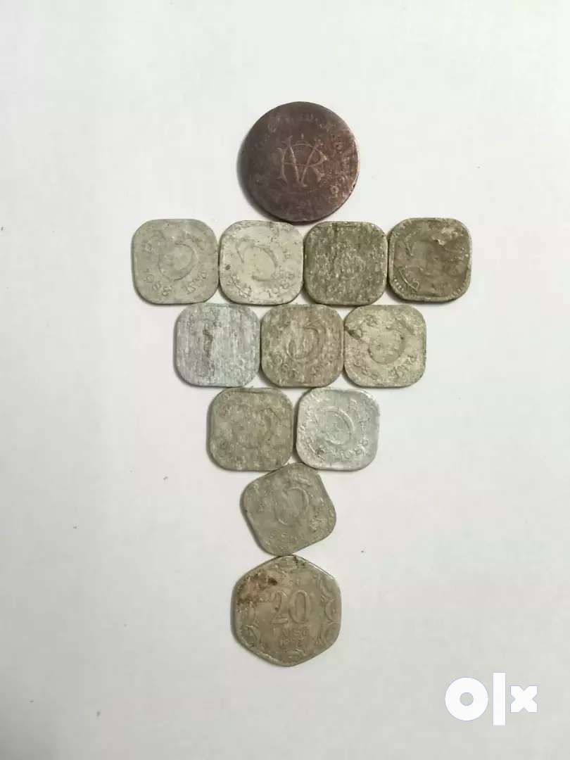 Coin olld 5, 20, chakra edappally