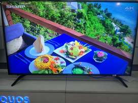 "PROMO HEBOH KHUSUS SABTU MINGGU LED TV 60"" SHARP SMART TV 4K HDR"
