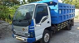 Jual BU Murah isuzu Elf Dump Truk istimewa Cabin Tahun 2013