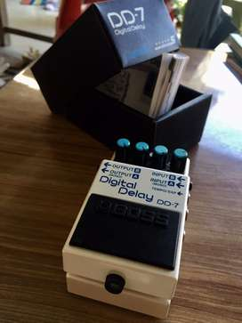 Boss DD7 (Guitar delay pedal)