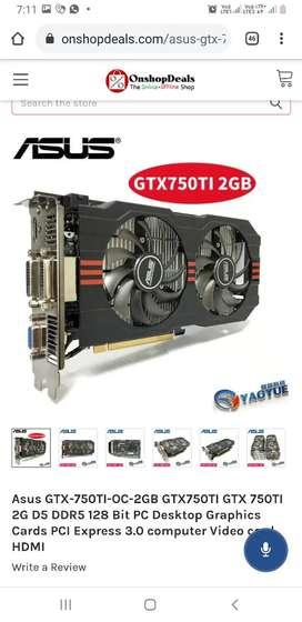 Asus GTX 750TI OC 2GB GTX750TI