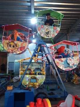 Pabrik mini coaster kincir mini isi 4 odong RAA