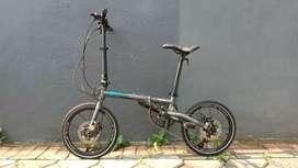 Sepeda Lipat Folding 16 Element Troy X9