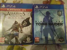 Assassin's creed blag flag and tomb raider