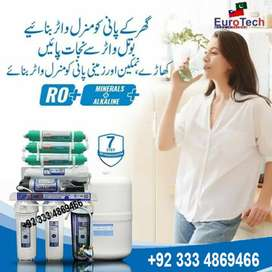 7 Stage Euro Tech Top Quality Taiwan Ro plant Domestic Ro water filter