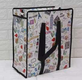 Tas karung / tas belanja / laundry bag ukuran 55x65