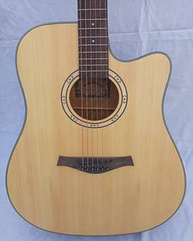 Acoustic Guitar Jumbo Size 41 Inches - Hanks F Cut Sparrow