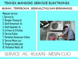 Panggilan service Ac tidak dingin Showcase & Mesin cuci electrolux