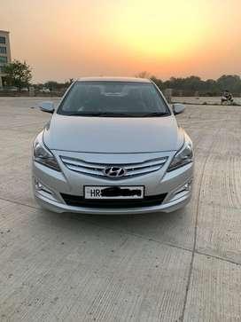 Hyundai Verna 2015-2016 1.6 VTVT S Option, 2015, Petrol