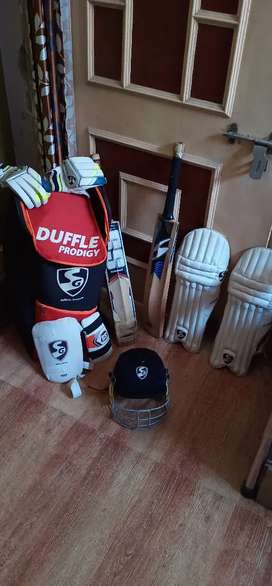 I want to sell my cricket kit and uniform