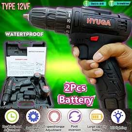 Bor cash batrei 12 volt merek Hyuga produk baru brkualitas promo