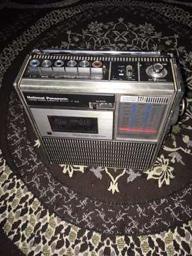 Antique Tape Recoder and Radio