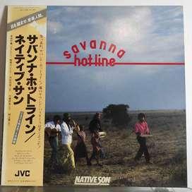 Native Son - Savana Hot-line / LP Vinyl / Jazz - Funk / Piringan PH