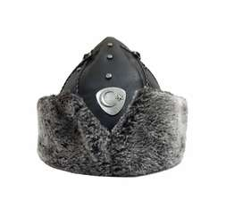 Ertugrul Cap Turkish Winter Hat Leather Model 3070