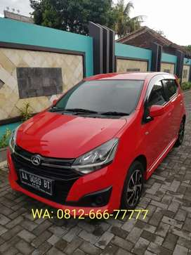 New Ayla Merah 2018 Matic