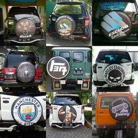 Cover Ban Serep sarung mewah panther Rush/Terios/Escudo/Jeep/Bisa Desa