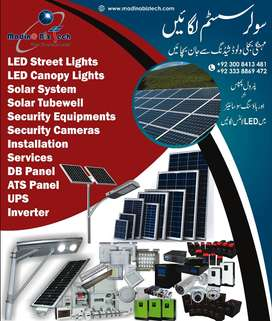 Solar System for Office,Home and Factories