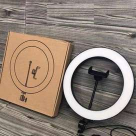 26cm Led Studio Camera Ring Light Photography With Mobile Holder.