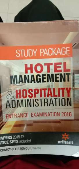 This is hotel management and hospitality administration book