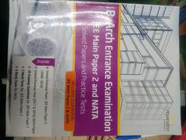 B Arch entrance exam jee main paper 2 and NATA