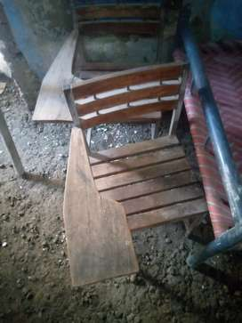 Handle student chair