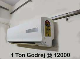 1 Ton 5 Star Split AC With 1 Year Warranty With system generated Bill